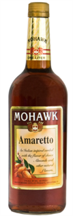 Mohawk Liqueur Amaretto 750ml - Case of 12